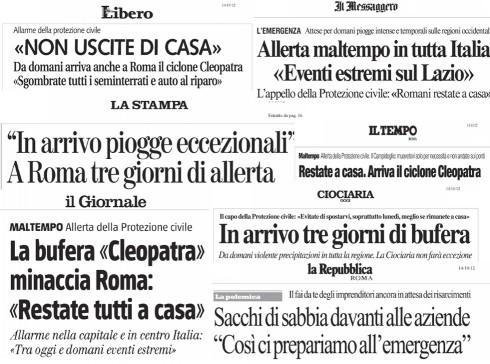 I titoli dei  giornali – Narrazione o plagio?