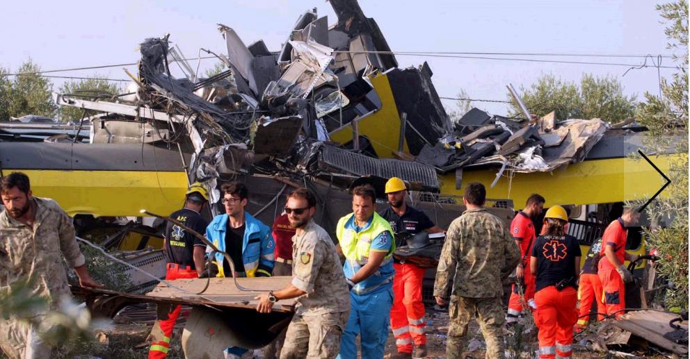 La tragedia dei treni di Andria- le strutture narrative del racconto giornalistico