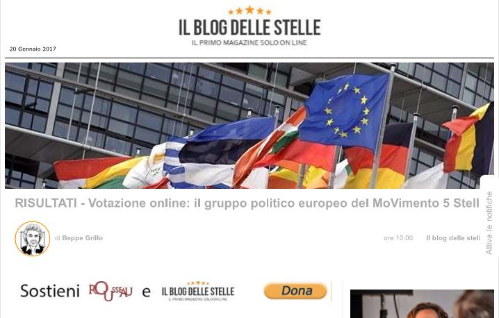 ALDE o EFDD? I travagli interiori tra i sostenitori del Movimento 5 Stelle